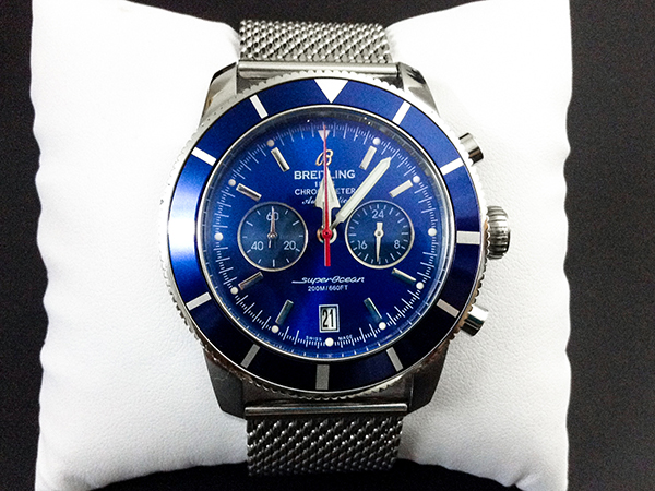 photo review of Breitling Superocean Heritage Chronograph 44