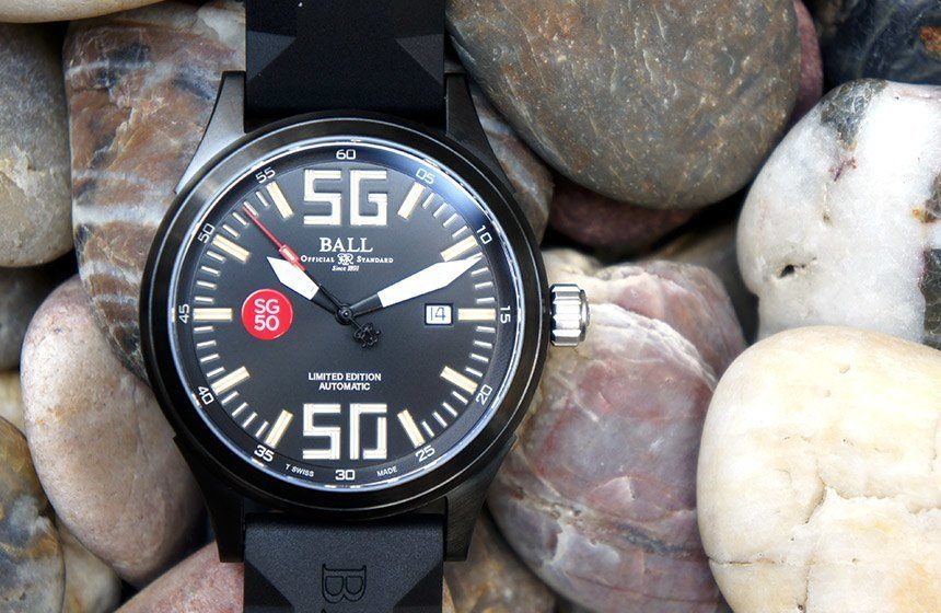 Ball Fireman Night Train SG50 Limited Edition Watch Review Wrist Time Reviews