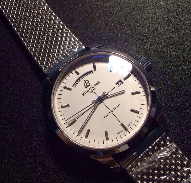 Breitling Transocean Replica Watch Front View