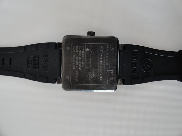 Bell & Ross fake watch back case