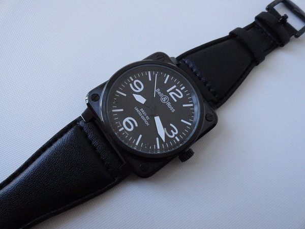 Bell & Ross Carbon Leather Strap Replica Watch Overview